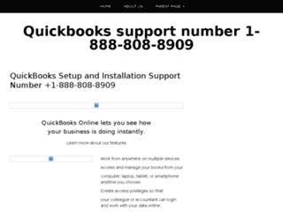 quickbookstechsupportnumber.com screenshot