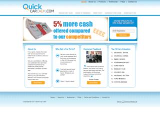 quickcarcash.com screenshot
