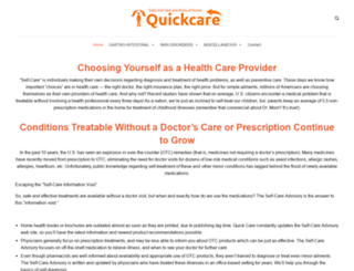 quickcare.org screenshot