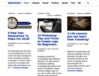 quickgulp.com screenshot