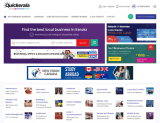 quickkerala.com screenshot
