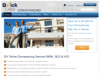 quicklaw.com.au screenshot
