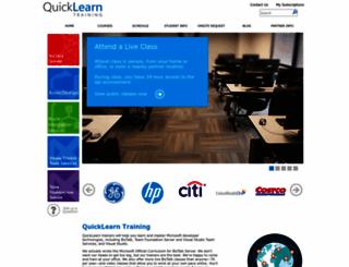 quicklearn.com screenshot