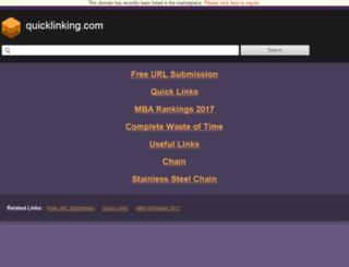 quicklinking.com screenshot