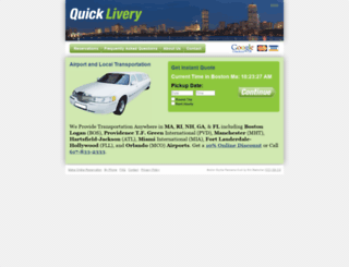 quicklivery.net screenshot