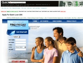 quickloan2.com screenshot