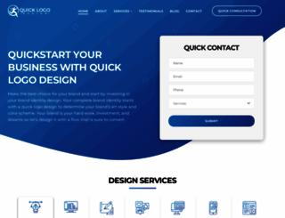quicklogodesign.com screenshot