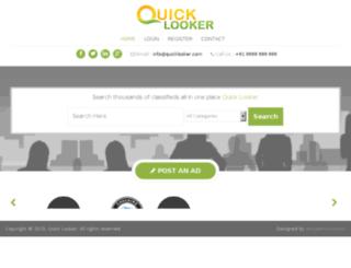 quicklooker.com screenshot