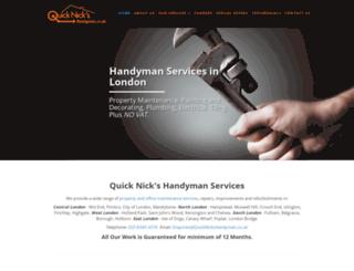 quicknickshandyman.co.uk screenshot