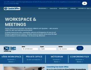 quickoffice.se screenshot