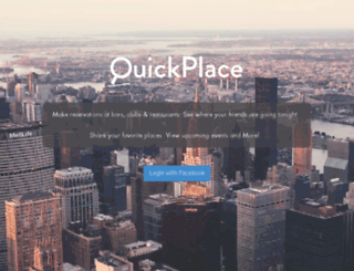 quickplace.me screenshot