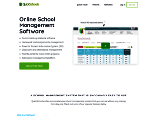 quickschools.com screenshot