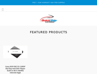 quickshipwarehouse.com screenshot