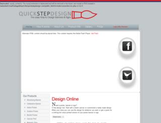 quickstepdesign.com screenshot