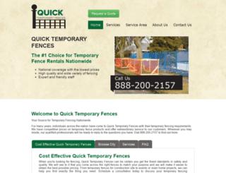 quicktemporaryfences.com screenshot