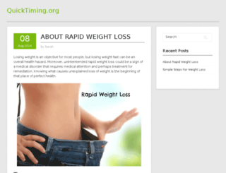 quicktiming.org screenshot