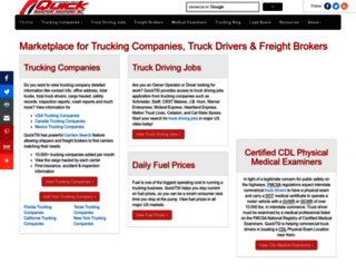 quicktransportsolutions.com screenshot