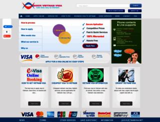 quickvietnamvisa.net screenshot