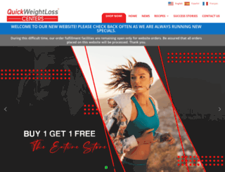 quickweightlosscenter.com screenshot