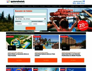 quierohotel.com screenshot