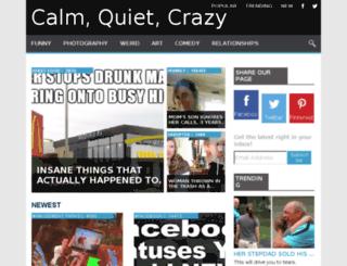 quietcrazyzone.com screenshot