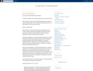 quietevening.blogspot.com screenshot