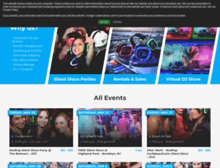 quietevents.com screenshot
