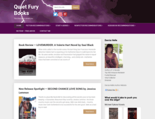 quietfurybooks.com screenshot