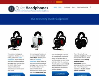 quietheadphones.com screenshot