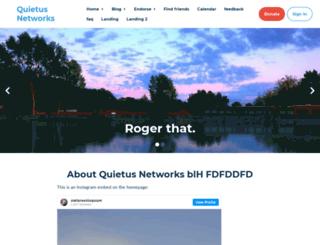 quietus.nationbuilder.com screenshot