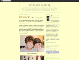 quigleyscabinet.blogspot.com screenshot
