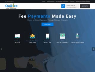quikfee.com screenshot