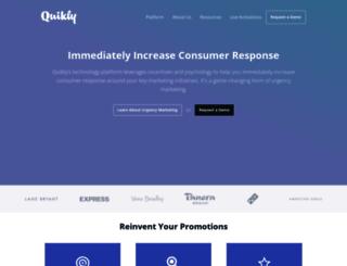 quikk.ly screenshot