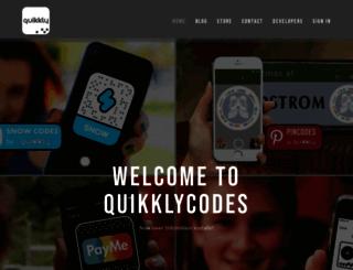 quikklytags.info screenshot