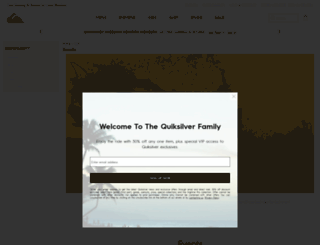quiksilverlive.com screenshot