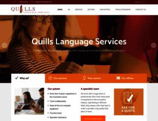 quillslanguage.com screenshot