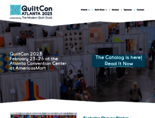 quiltcon.com screenshot