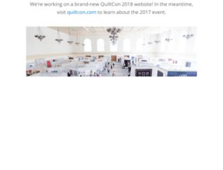 quiltconwest.com screenshot