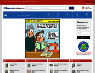 quilterswarehouse.com screenshot