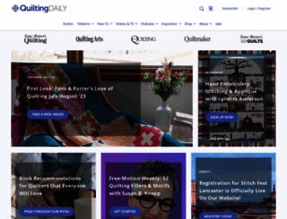 quiltingarts.com screenshot