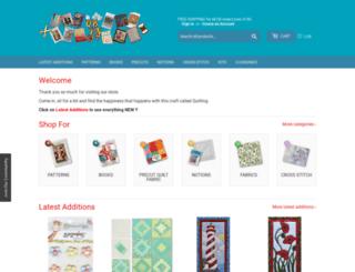 quiltingbookspatternsandnotions.com screenshot