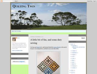 quiltingtwin.blogspot.com.au screenshot