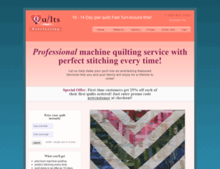 quiltseverlasting.com screenshot
