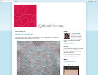 quiltsonbastings.blogspot.com.br screenshot