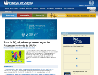 quimica.webcom.com.mx screenshot