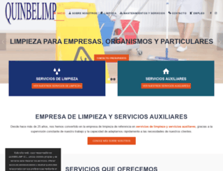 quinbelimp.es screenshot