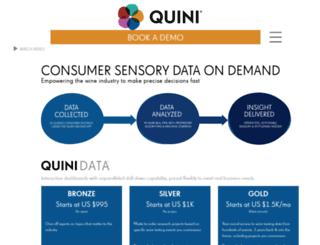 quiniwine.com screenshot