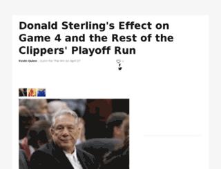 quinnforthewin.sportsblog.com screenshot