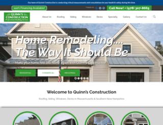 quinnsconstruction.com screenshot