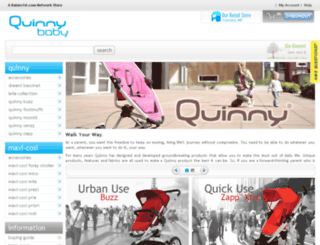 quinnybaby.com screenshot